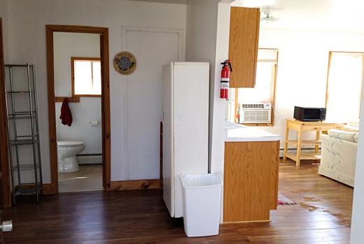 Entrance and Bathroom