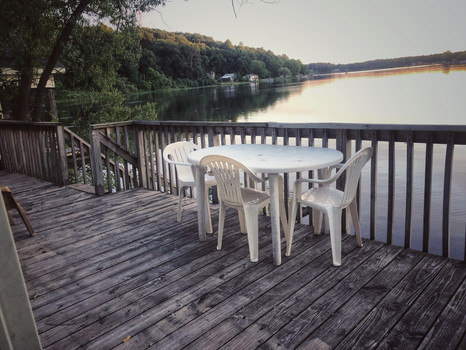 Lake Living on the Deck over the Water