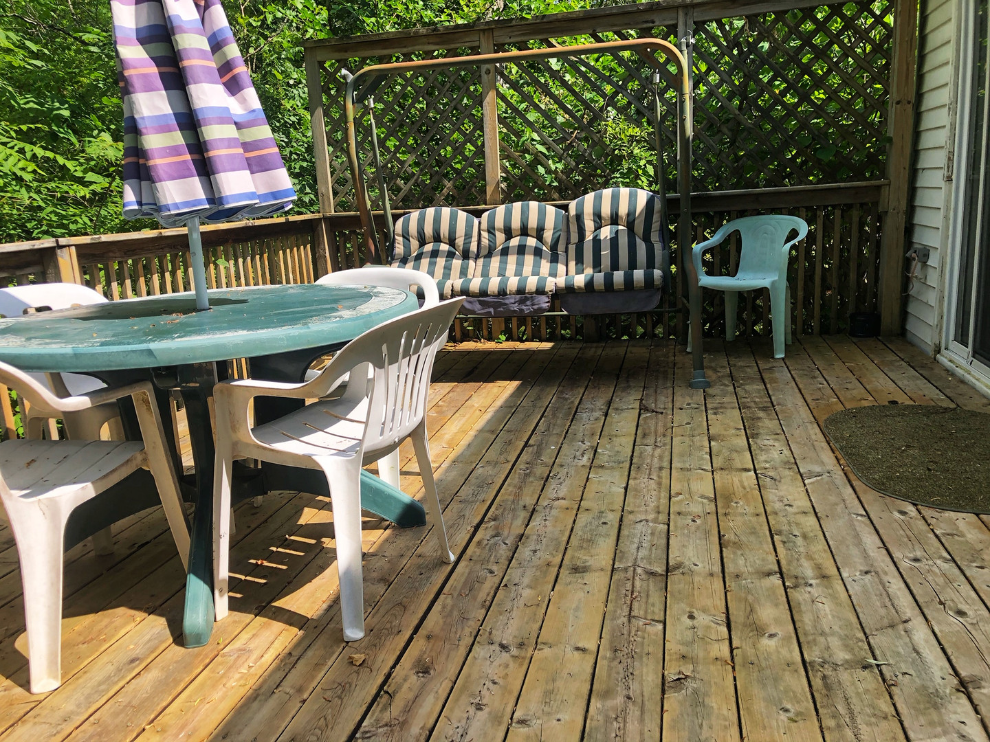 Large Out Door Deck