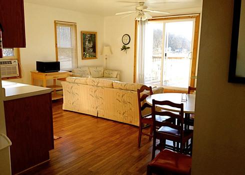 Top Deck Main Living Area