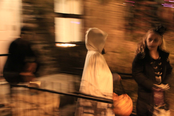 Blurred Lines: Revisiting Halloween (when human souls play hide and seek)