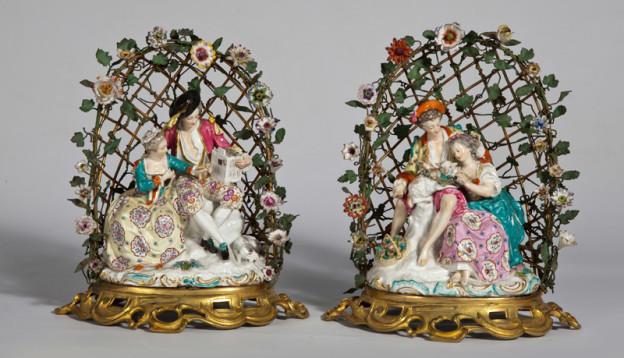 Figuras de porcelana Meissen