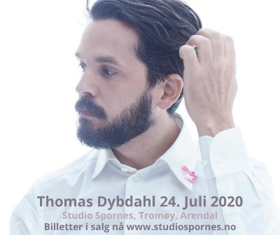 Thomas Dybdahl 24. Juli @ Studio Spornes