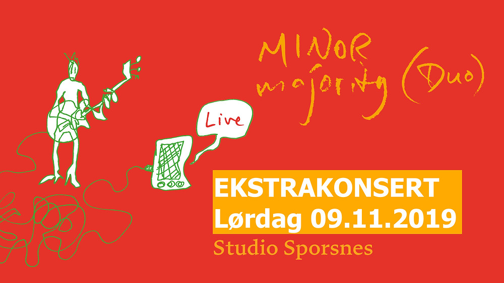 Minor Majority Duo EKSTRAKONSERT 09.11.2019