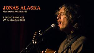 Lørdag 29. sept - Jonas Alaska UTSOLGT!