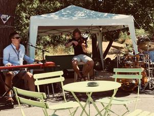 Lørdag 14. juli - Jazz i hagen kl 14 -