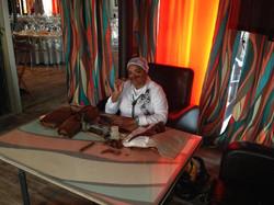 Сигарное шоу с кубинским мулатки (7)