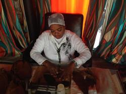 Сигарное шоу с кубинским мулатки (3)