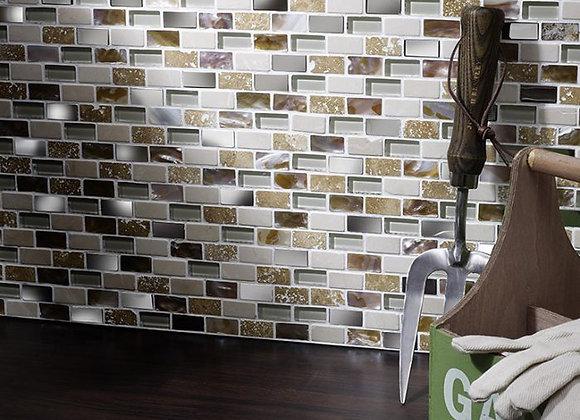 Verona Mix Mini Brick Mosaic