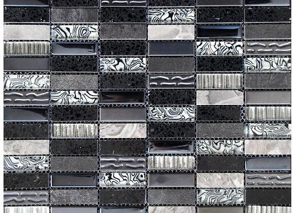 Zebra Safari Mosaic