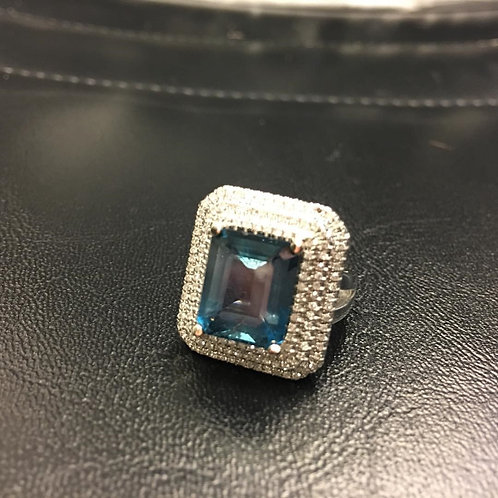 7 ct London Blue Topaz