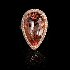 18k Rosegold Vs Diamond Morganite