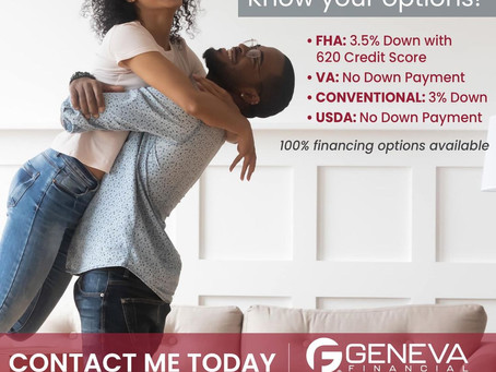 First-Time Homebuyer Options!!!