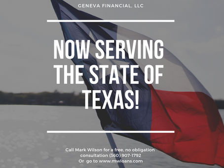 We've added Texas to the list of states that we serve!