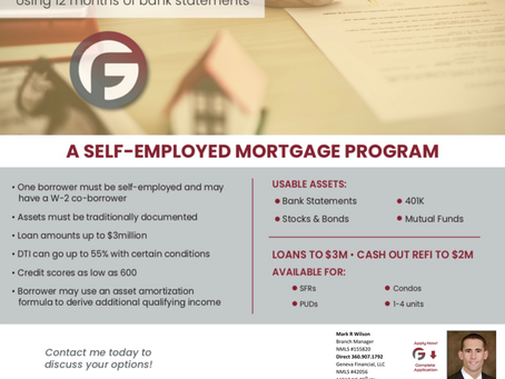 Check Out Our Self-Employed Mortgage Program
