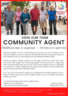 Community Agents Vacancy_closes 07.07.21