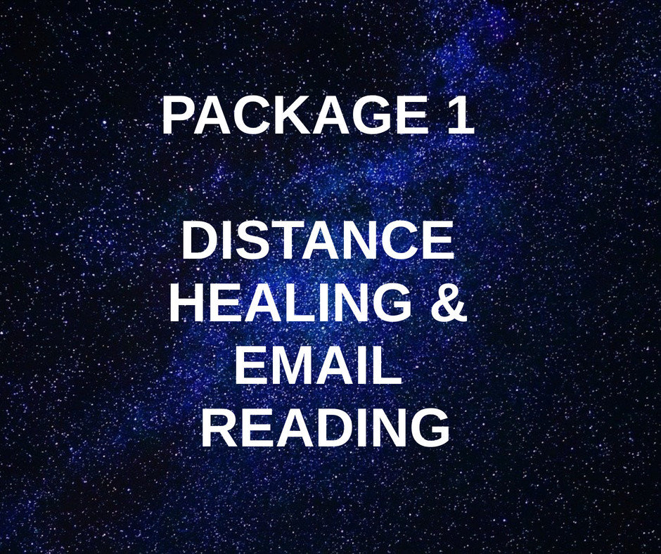 Package 1 - Distance Healing & Reading