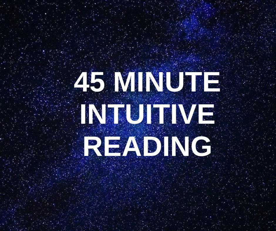 45 Minute Intuitive Reading