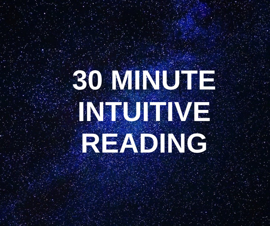 30 Minute Intuitive Reading