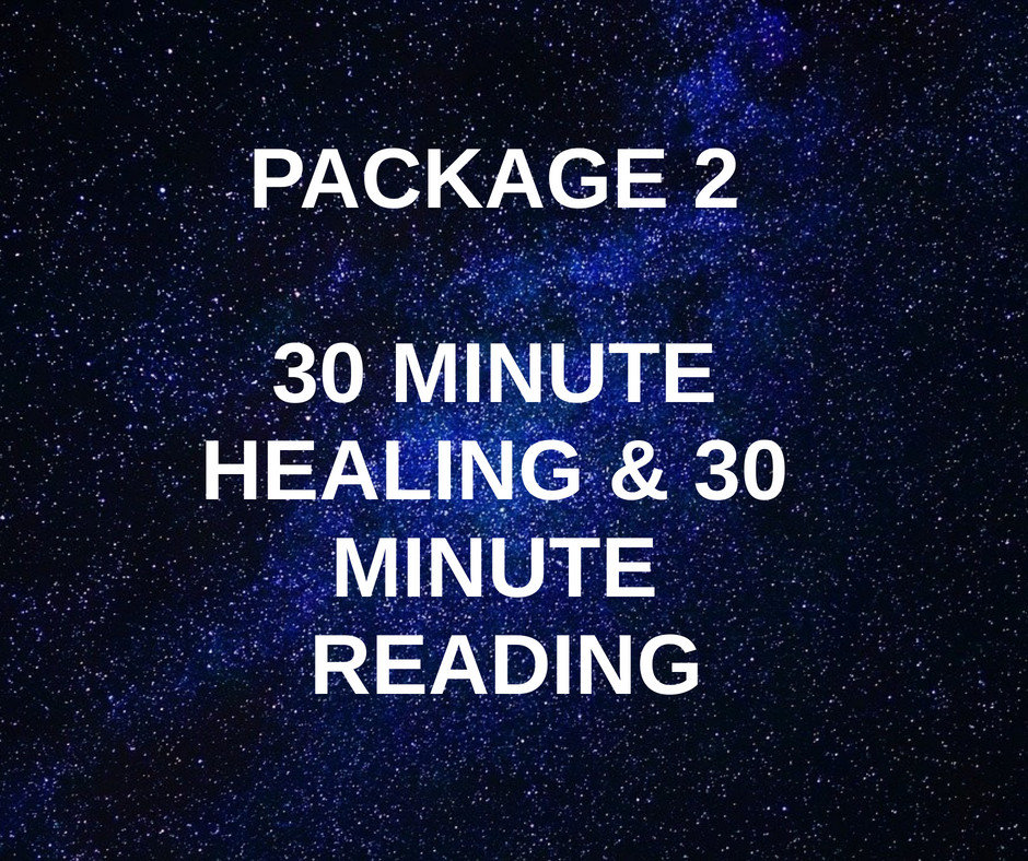 Package 2 - Healing & 30 Minute Reading