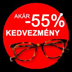 Komplett szemüvegek 14900.- Ft ártól!