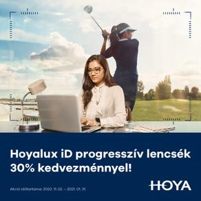 30% kedvezmény Hoya iD Multifokális lencsékre