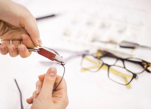 Szemüvegkeret beállítása