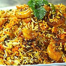 Shrimp Dum Biryani
