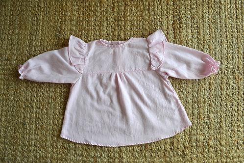 SETTAT / Camisa rosa de algodón