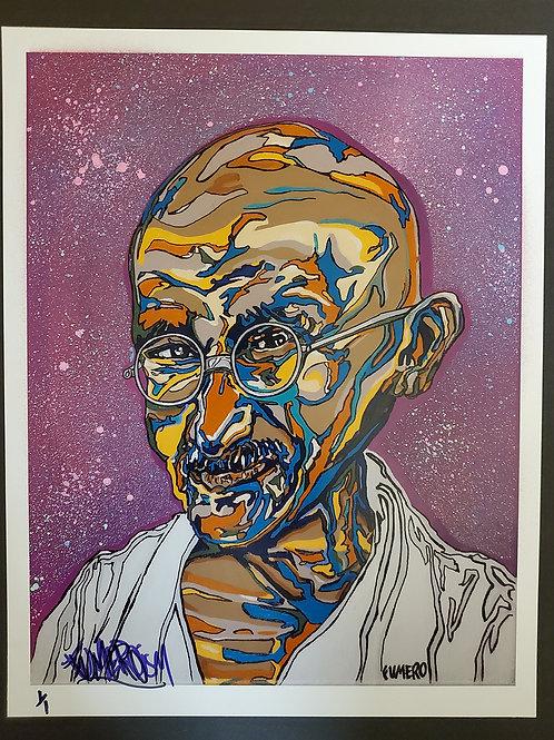 Ghandi - Artist Embellished