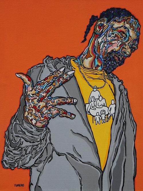 Snoop with TSLogo - Print