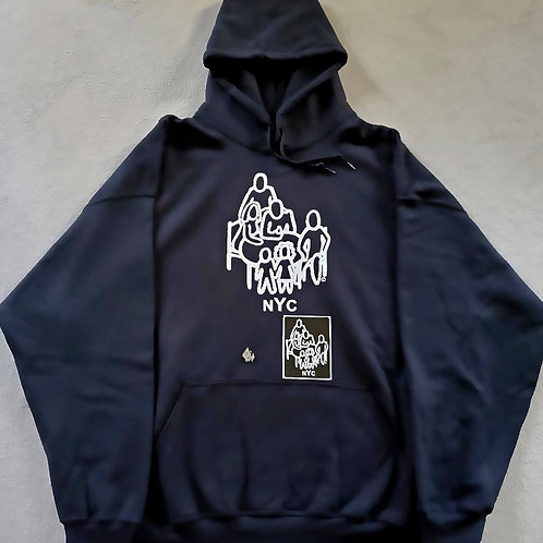 TSLogo Hoodie w/free pin and sticker