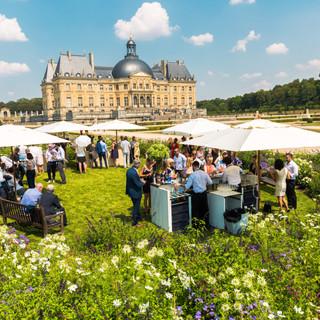 Réception tournage TF1 Château de Vicomt