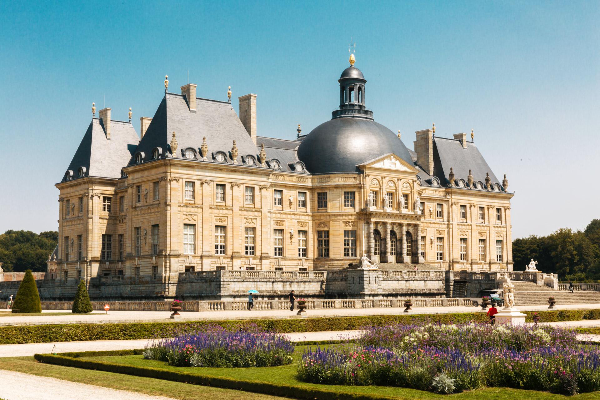 Tournage TF1 Château de Vicomte