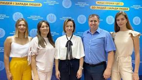 Марина Лазебная встретилась с представителями «Ассоциации Наставничества для детей и молодежи»