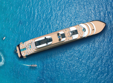 Auf dem Meer: Ritz-Carlton Yacht Collection