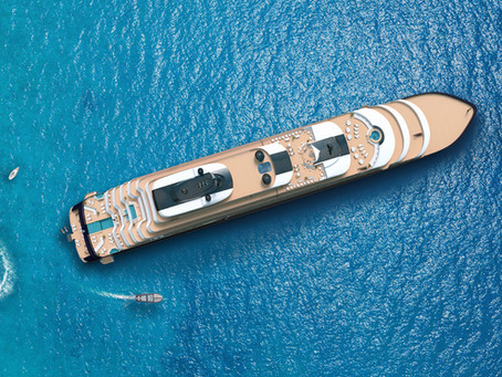 Auf dem Meer: Ritz-Carlton Yacht Collection