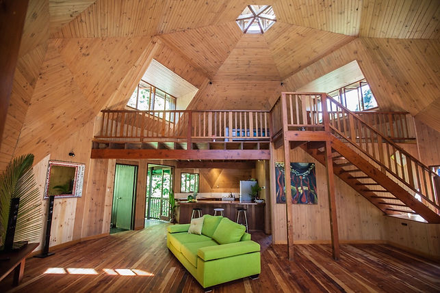 Cape Tribulation Holiday House interior.