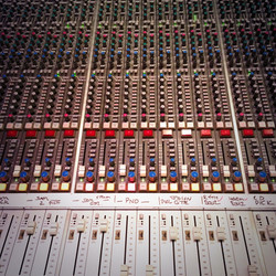 Cara album mix session