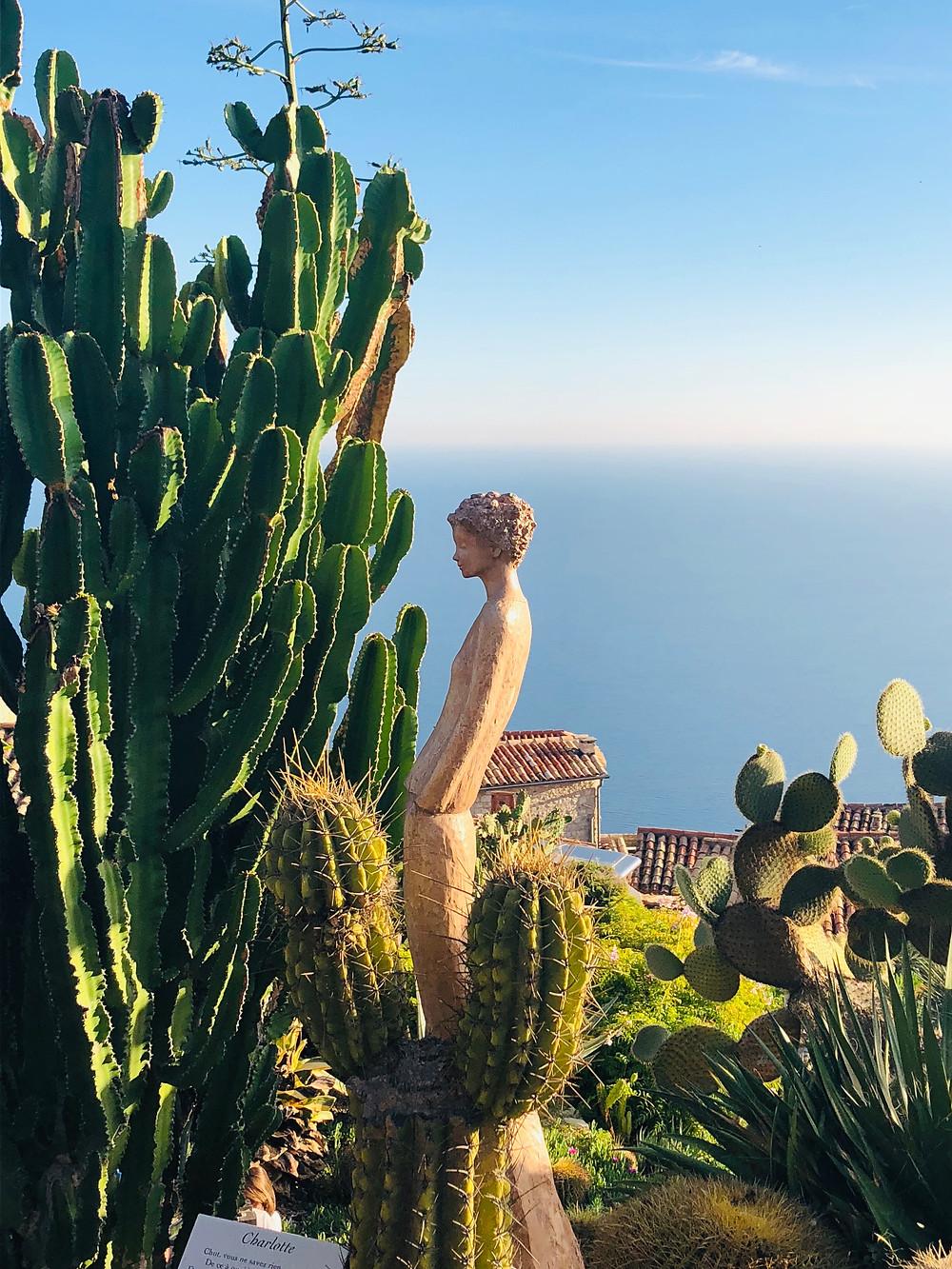 Photo Petit Jardin Exotique entre terre et ciel : le jardin exotique d'eze