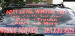 Next Level Window Tint