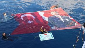 Turkish diver Sahika Ercumen breaks world record in Antalya