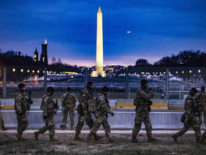 FBI vetting Guard troops in DC amid fears of an insider attack