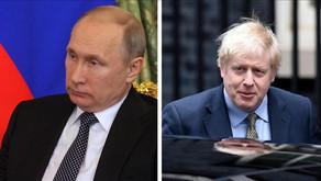 Russian president, UK premier speak by phone ahead of G20 summit