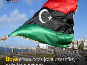 Libya announces joint ceasefire, calls for elections