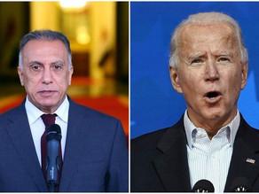 Al-Khadimi discusses Iraq-US cooperation on Daesh with President Biden