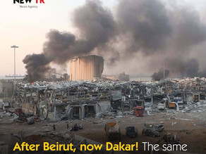 After Beirut, now Dakar! The same amount of ammonium nitrate lurks
