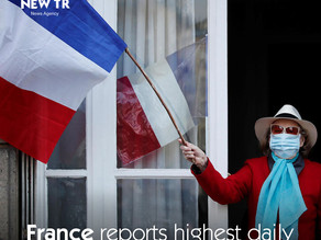 France reports highest daily rise in corona virus cases