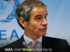 The U.N. nuclear watchdog's chief Rafael Grossi will make his first trip to Tehran