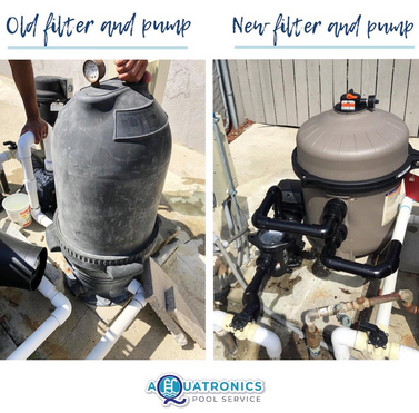 Filter and Pump Replacement